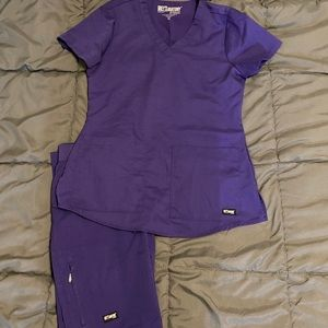 Greys anatomy scrub set